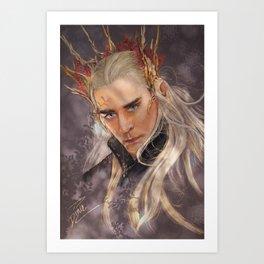 Elvenking Art Print