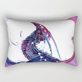 Galaxy Dragon Rectangular Pillow