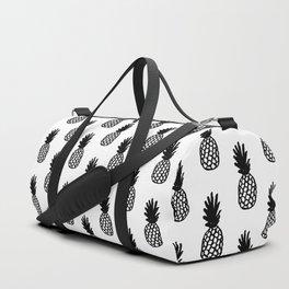 Black Pineapple Duffle Bag