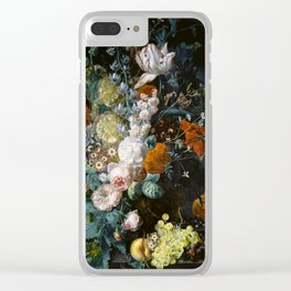 Floral stil life Clear iPhone Case