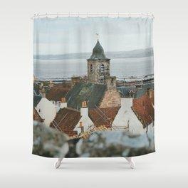 Culross From Above Shower Curtain