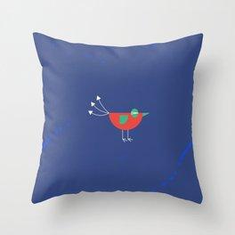Birdie-6 Throw Pillow