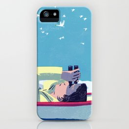 What Do the Birders Know? iPhone Case
