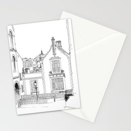 Edinburgh city sketch Stationery Cards