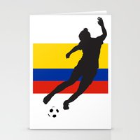 colombia Stationery Cards featuring Colombia - WWC by Alrkeaton