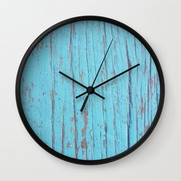 Kissed by salty water Wall Clock