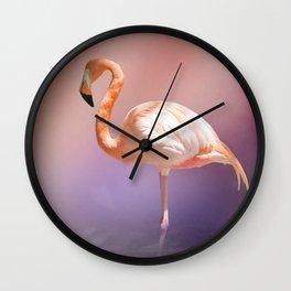 The Flamingo 2 Wall Clock