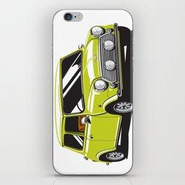 Mini Cooper Car - Chartreuse iPhone Skin