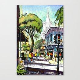 Duval Street, Key West Canvas Print