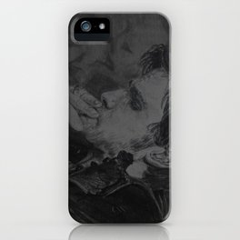 It is what the kiss exposed iPhone Case