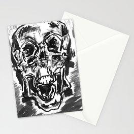 Shout skulls Stationery Cards