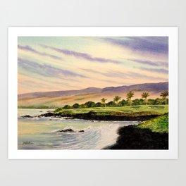 Mauna Kea Golf Course Hawaii Hole 3 Art Print