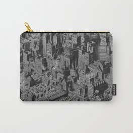 The Fantasy City. Urban Landscape Illustration. Carry-All Pouch