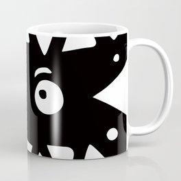 Black and white monster Coffee Mug
