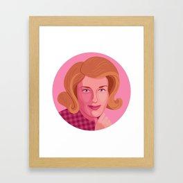 Queer Portrait - Lesley Gore Framed Art Print