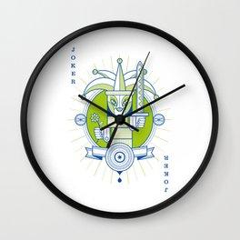Delirium female Joker Wall Clock