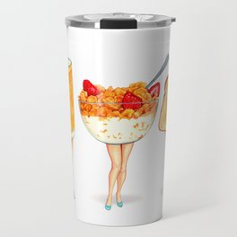 Breakfast Pin-Ups Travel Mug