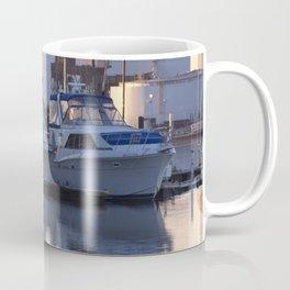 Boats in Fells Point Coffee Mug
