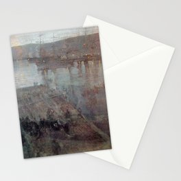 Nocturne In Blue And Gold Valparaiso Bay By James Mcneill Whistler | Reproduction Stationery Cards