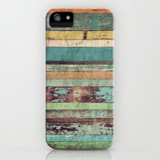 Wooden Vintage  Slim Case iPhone (5, 5s)