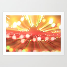 beaming no. 361 Art Print