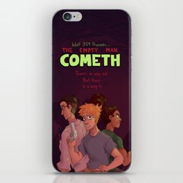 Empty Man Cometh iPhone Skin