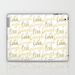 Live Laugh Love II Laptop & iPad Skin