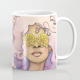 Flowered Sight Coffee Mug
