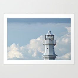 Newhaven Lighthouse Art Print