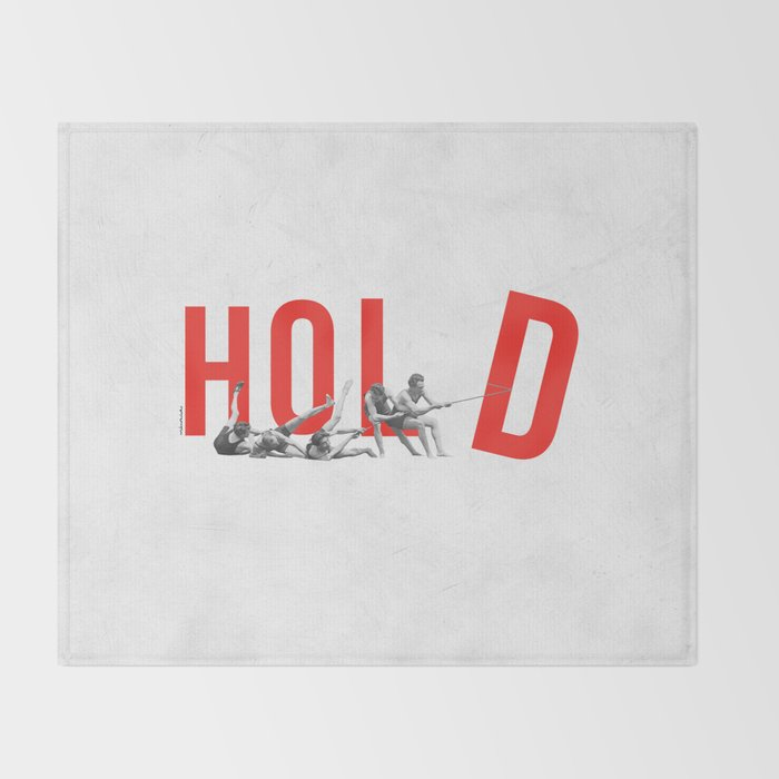 Hold Throw Blanket
