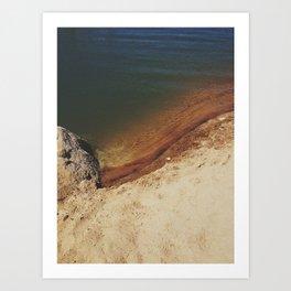 lakeside spectrum Art Print
