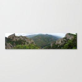 Montserrat, Barcelona Canvas Print
