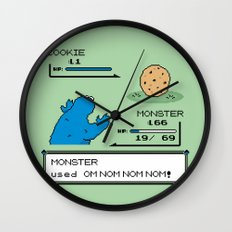 Cookiemon Wall Clock