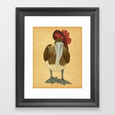 Plumpkin Ploshkin Pelican Jill Framed Art Print