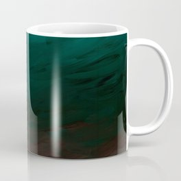 Inverted Fade Turquoise Coffee Mug