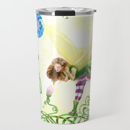 Flower Fairy Travel Mug