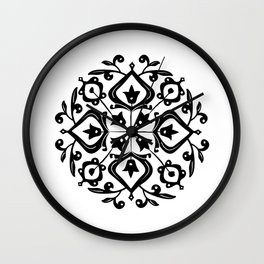 Persian Glaze Wall Clock