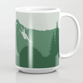 Camping Couple - Pine Coffee Mug