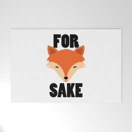 FOR FOX SAKE Welcome Mat