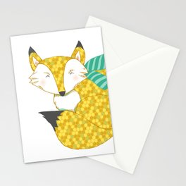 Fashionable Fox Stationery Cards