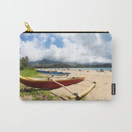 outrigger canoe Carry-All Pouch