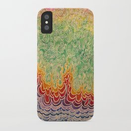 Vines and Flames iPhone Case
