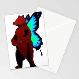 Butterfly Bear Stationery Cards