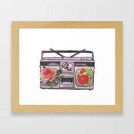 Mixed Tape Framed Art Print