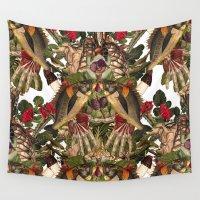anatomy Wall Tapestries featuring ANATOMY: FISHING by MANDIATO ART & T-SHIRTS