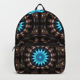 Stained Glass Starburst Pattern Backpack
