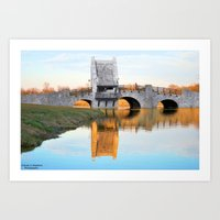 parks and rec Art Prints featuring Parks by CharlesStephensPhotography