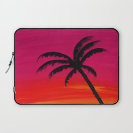 Sunset Palm 2 Laptop Sleeve
