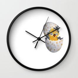 little chick Wall Clock