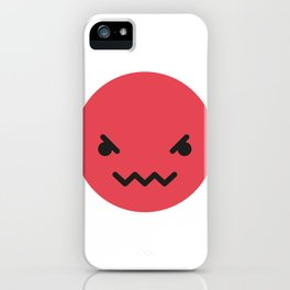 Emojis: Angry iPhone Case